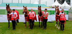 WEG 2014 Canadian Endurance Team
