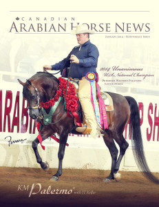 Canadian Arabian Horse News Jan 2015